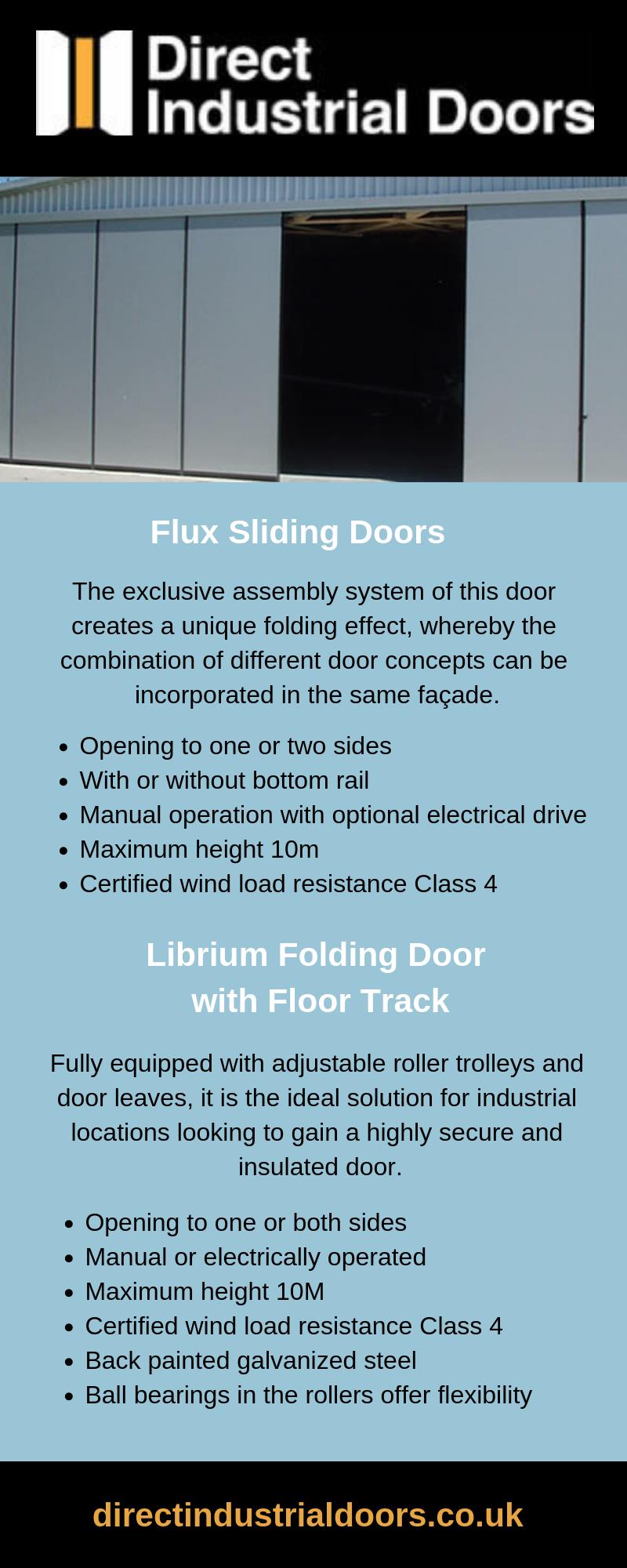 What Are Flux Sliding Doors?