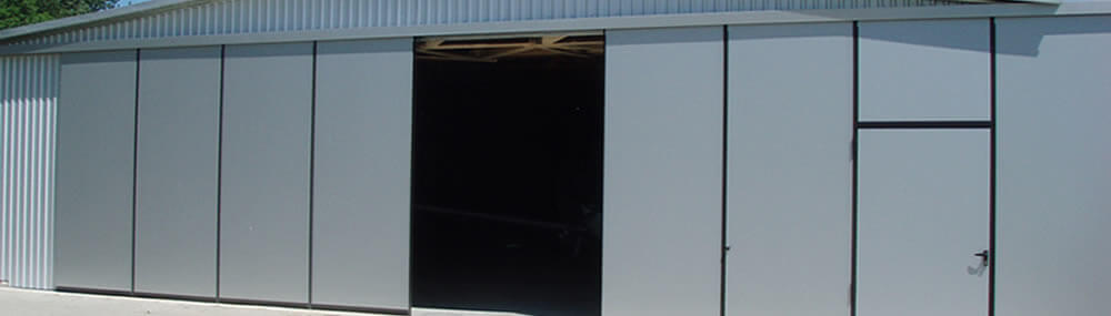 Insulated sliding doors