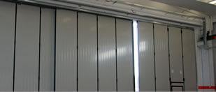 industrial and insulated sliding folding doors hangar door supply